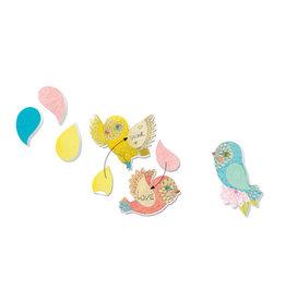 Djeco Memoblaadjes, under my wing