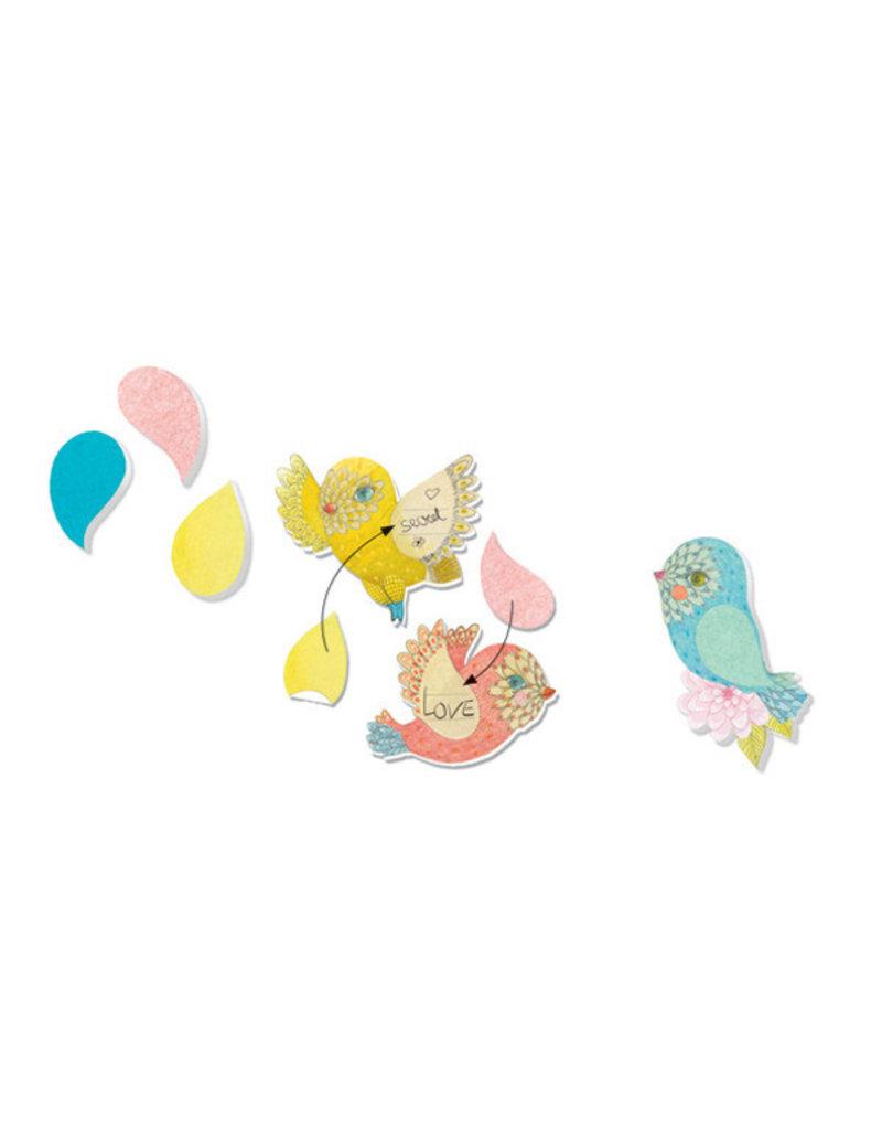 Djeco Djeco - memoblaadjes, under my wing