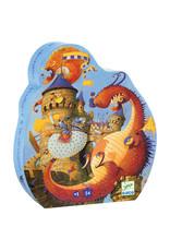 Djeco Djeco - puzzel, vaillant en de draken, 54 stukken