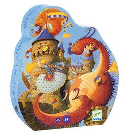 Djeco Puzzel, Vaillant en de draak
