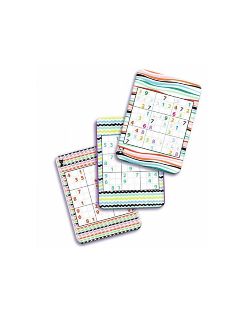 Djeco Djeco - spel, mini logix, sudoku