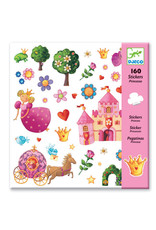 Djeco Djeco - stickers, prinses