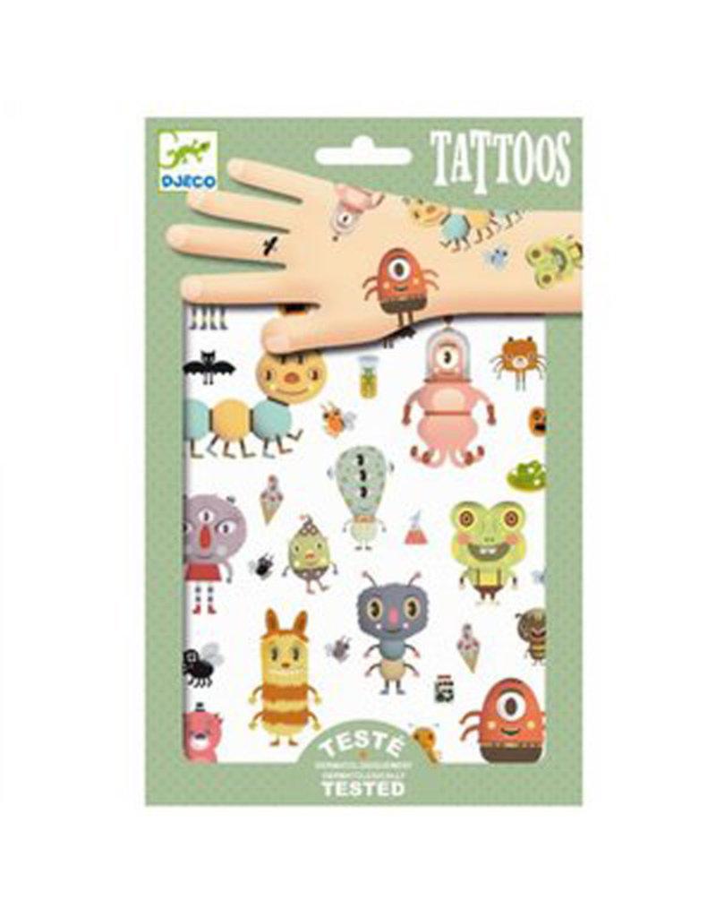 Djeco Djeco - tatoeages, monsters