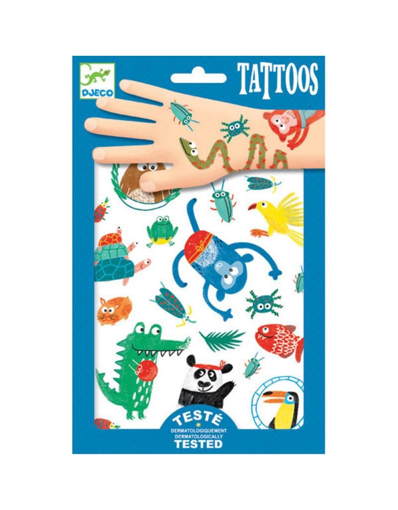 Djeco Djeco - tatoeages, snoeten