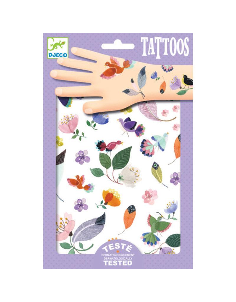 Djeco Djeco - tatoeages, vlucht