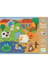 Djeco Djeco - puzzel, giant, tactillo, boerderij, 20 stukken