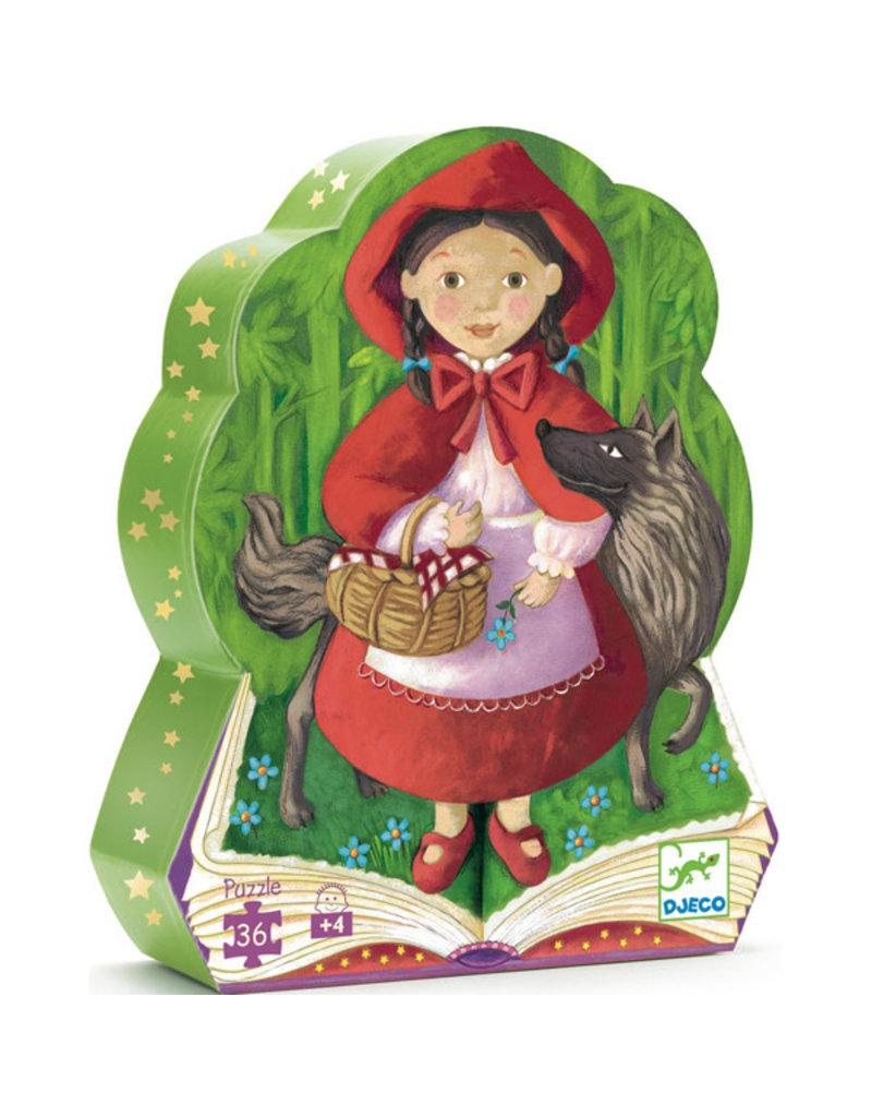 Djeco Djeco - puzzel, roodkapje, 36 stukken