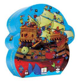 Djeco Puzzel, het schip van Roodbaard