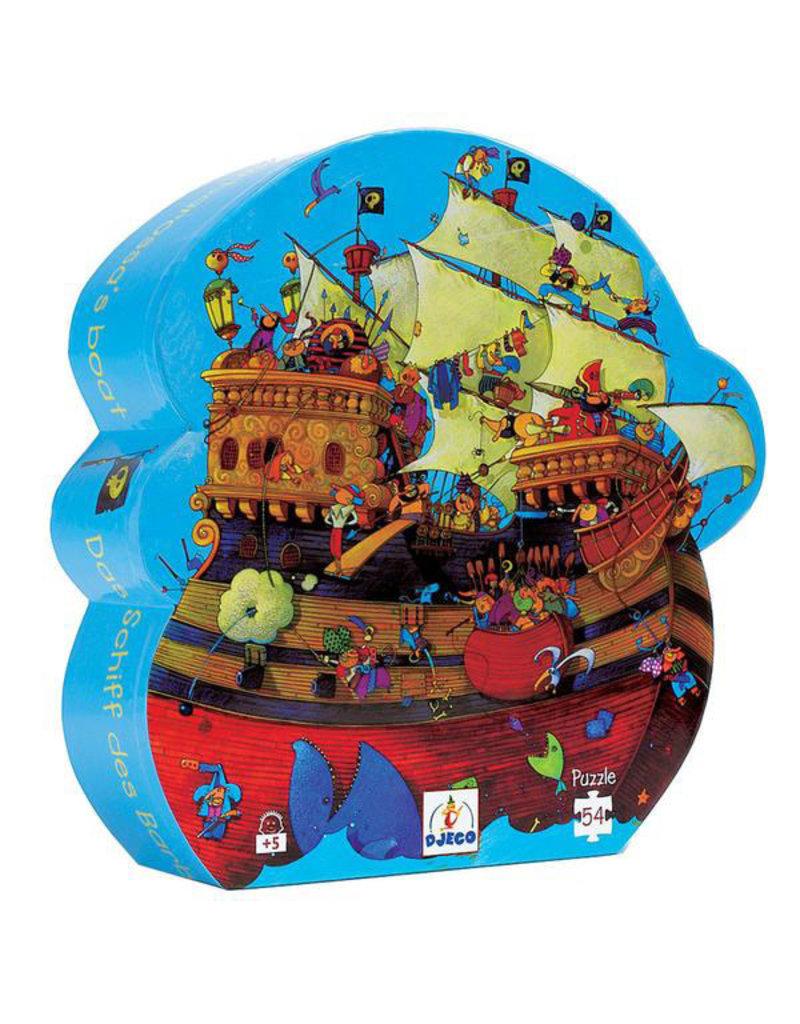 Djeco Djeco - puzzel, het schip van Roodbaard, 54 stukken