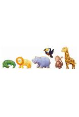 Djeco Djeco - puzzel, giant, Ouistiti en zijn vriendjes