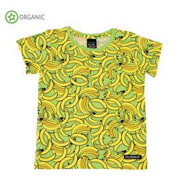 Villervalla T-shirt, banana (3-16j)