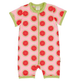 Maxomorra Summerzipsuit, watermelon (0-2j)