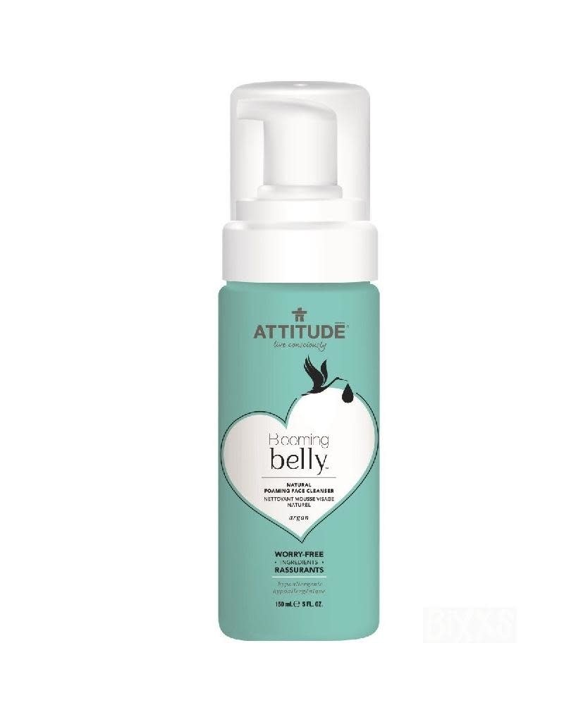 Attitude Attitude - Blooming Belly Natural Foaming Face Cleanser