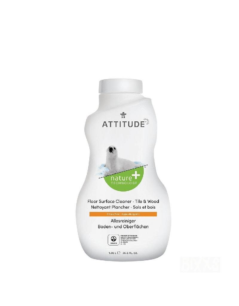 Attitude Attitude - allesreiniger voor tegels en hout, Citrus Zest