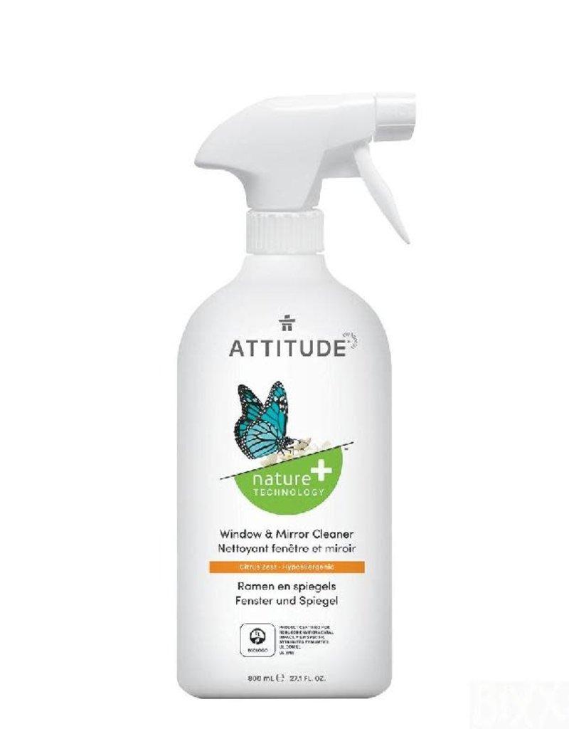 Attitude Attitude - reiniger voor ramen & spiegels, spray