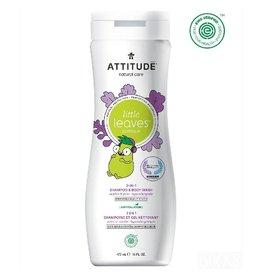 Attitude 2-in-1 Shampoo & Body Wash, Vanilla & Pear