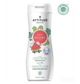 Attitude 2-in-1 Shampoo & Body Wash, Watermelon & Coco