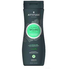 Attitude 2-in-1 Shampoo and Body Wash, Scalp Care Men