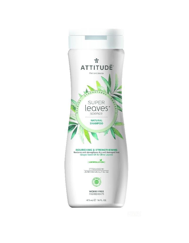 Attitude Attitude - Super Leaves shampoo, Nourishing & Strengthening
