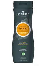 Attitude Attitude - Super Leaves 2-in-1 Shampoo and Body Wash, Sports Men