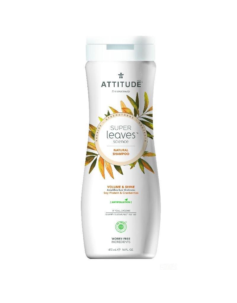 Attitude Attitude - Super Leaves shampoo, Volume & Shine
