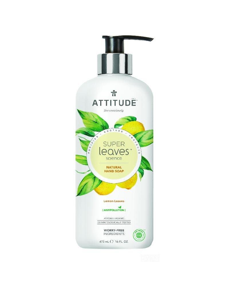 Attitude Attitude - Super Leaves handzeep, Lemon Leaves