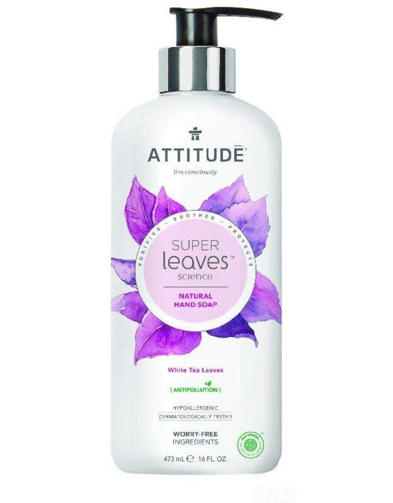 Attitude Attitude - Super Leaves handzeep, White Tea Leaves