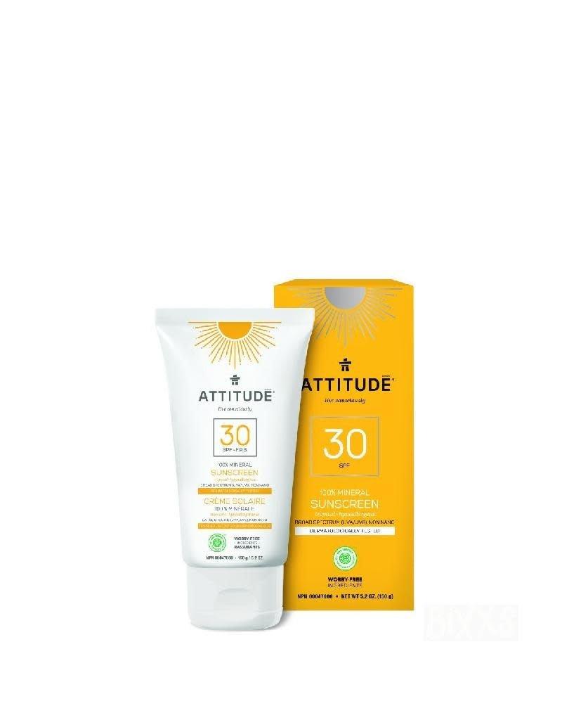 Attitude Attitude - zonnebrandcrème, Tropical, SPF 30