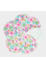 ImseVimse ImseVimse - borstvoedingspads, Soft & Absorbent, 3 paar, bloemen
