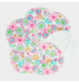 ImseVimse Borstvoedingspads, Soft & Absorbent, bloemen