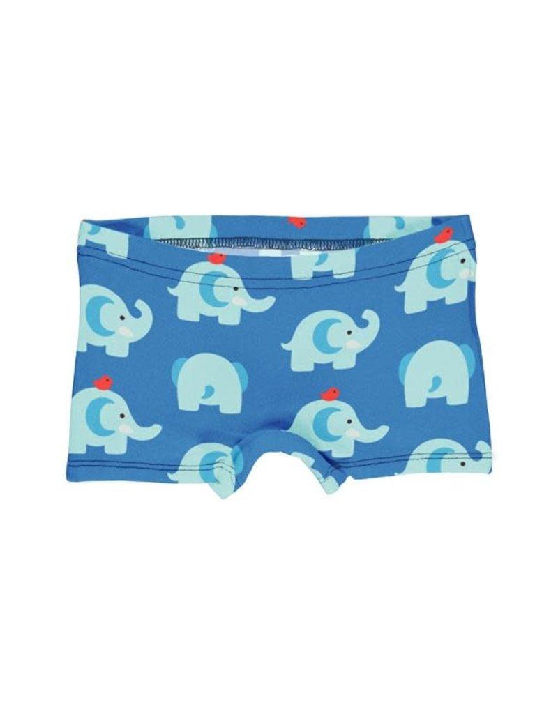 Maxomorra Maxomorra - boxer, blauw, elephant friends