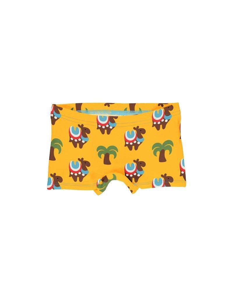 Maxomorra Maxomorra - boxer, geel, camel caravan
