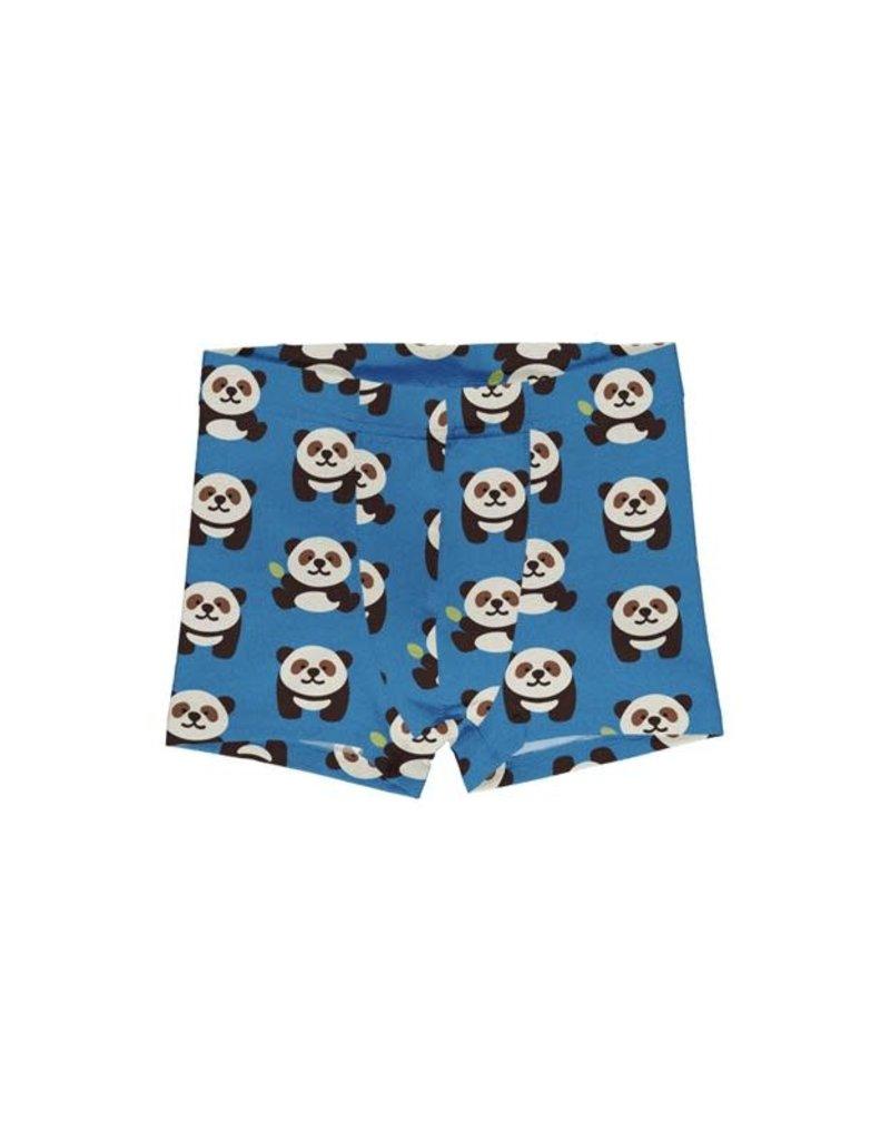 Maxomorra Maxomorra - boxershort, blauw, playful panda