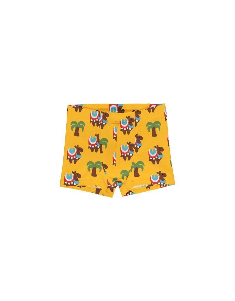 Maxomorra Maxomorra - boxershort, geel, camel caravan