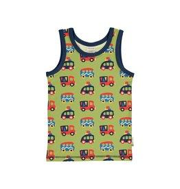 Maxomorra Tanktop, colourful cars (0-2j)
