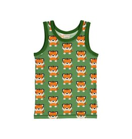 Maxomorra Tanktop, tangerine tiger (0-2j)