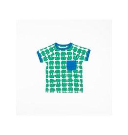 Alba of Denmark T-shirt, Pepper Green (0-2j)