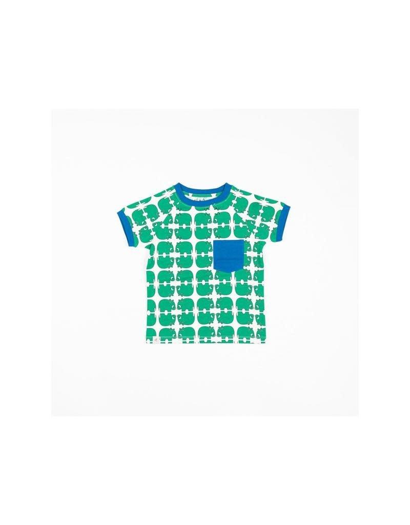 Alba of Denmark Alba of Denmark - T-shirt, Simon, Pepper Green (0-2j)