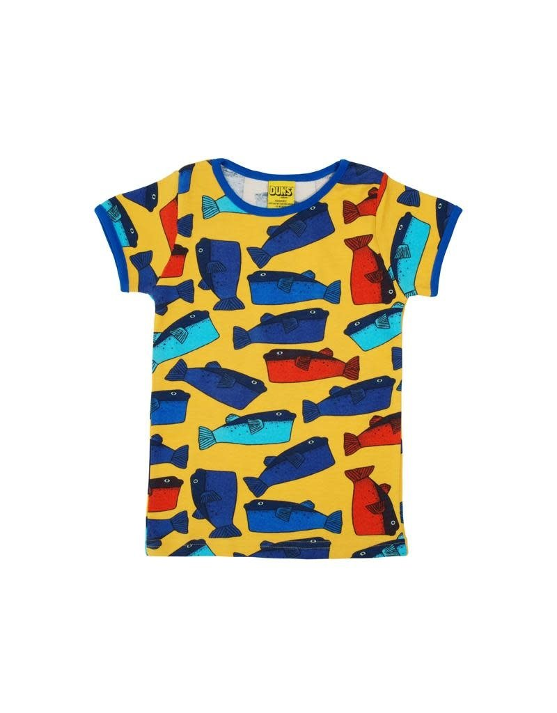 DUNS Sweden Duns Sweden - T-shirt, light orange, fugu (3-16j)