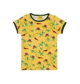 DUNS Sweden T-shirt, red clover (3-16j)