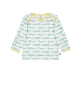Loud+Proud Shirt, mint krokodillen (3-16j)
