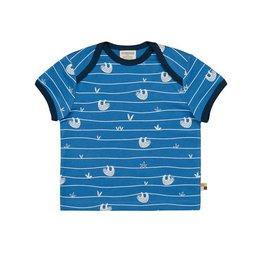 Loud+Proud T-shirt, cobalt, luiaards