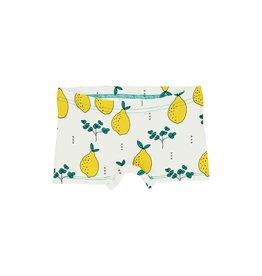 Meyadey Boxer, ecru, leafy lemon (0-2j)