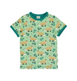 Meyadey T-shirt, lichtgroen, wild fox
