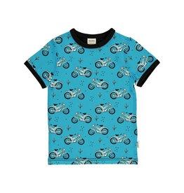 Meyadey T-shirt, cool biker
