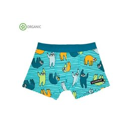 Villervalla Boxershort, light reef, sloths (0-2j)