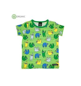 Villervalla Pyjama T-shirt, light pea (3-16j)