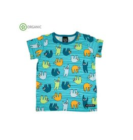 Villervalla PyjamaT-shirt, light reef