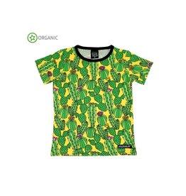 Villervalla T-shirt, cactus (3-16j)