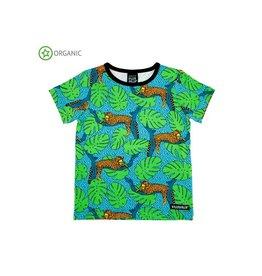 Villervalla T-shirt, leopard (3-16j)